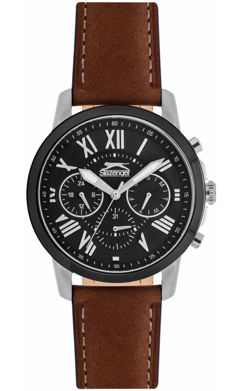 SL.09.6218.2.02  кварцевый хронограф наручные часы Slazenger для мужчин  SL.09.6218.2.02