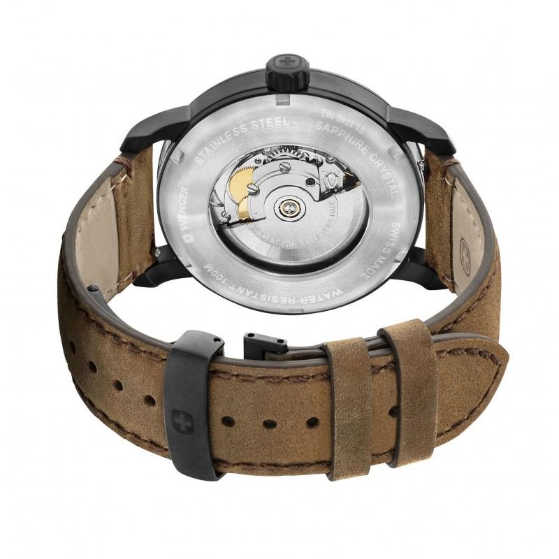 """01.1746.102  часы Wenger """"Urban Metropolitan Automatic""""  01.1746.102"""